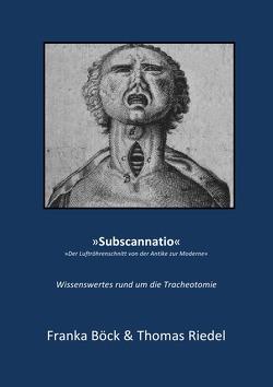 Subscannatio von und Thomas Riedel,  Franka Böck