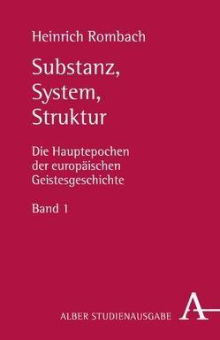 Substanz, System, Struktur von Rombach,  Heinrich