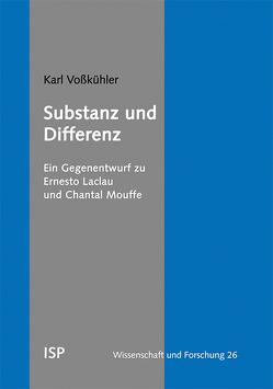 Substanz und Differenz von Voßkühler,  Karl