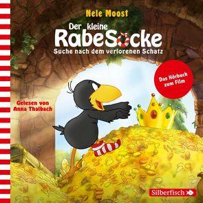 Suche nach dem verlorenen Schatz (Kleiner Rabe Socke) von Moost,  Nele, Thalbach,  Anna