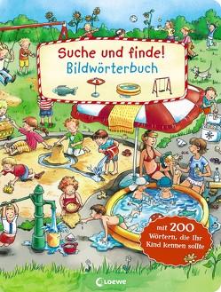Suche und finde! – Bildwörterbuch von Wieker,  Katharina