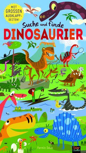 Suche und finde Dinosaurier von Rohrbacher,  Bea, Sólis,  Fermín, Walden,  Libby