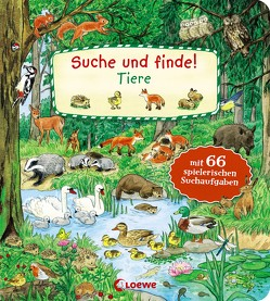 Suche und finde! – Tiere von Frankenstein-Börlin,  Tina, Leiber,  Lila L.