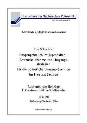 Suchtprävention bei Jugendlichen in Sachsen von Schmutzler,  Tina