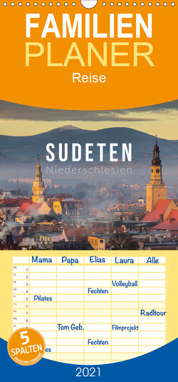 Sudeten Niederschlesien – Familienplaner hoch (Wandkalender 2021 , 21 cm x 45 cm, hoch) von Gospodarek,  Mikolaj