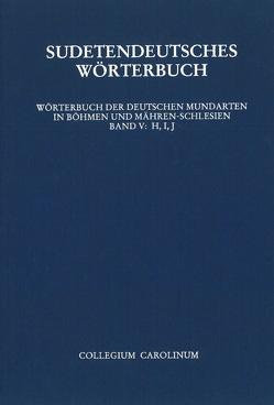 Sudetendeutsches Wörterbuch von Ehrismann,  Otfrid