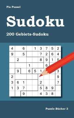 Sudoku 200 Gebiets-Sudoku von Pussel,  Pia