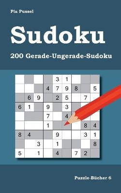 Sudoku 200 Gerade-Ungerade-Sudoku von Pussel,  Pia