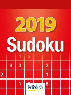 Sudoku 2019 von Korsch Verlag
