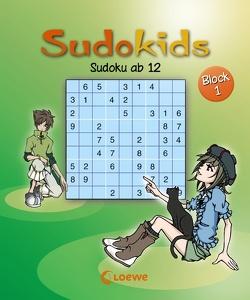Sudoku ab 12. Block 1 von Press,  Deike, Schoening,  Nicole