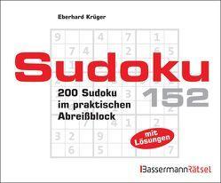 Sudoku Block 152 (5 Exemplare à 2,99 €) von Krüger,  Eberhard