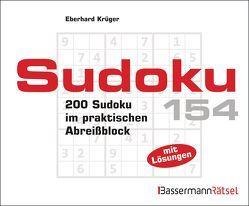 Sudoku Block 154 (5 Exemplare à 2,99 €) von Krüger,  Eberhard
