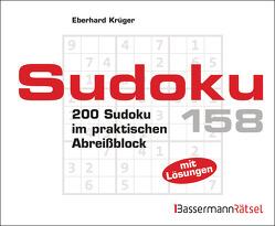 Sudoku Block 158 von Krüger,  Eberhard