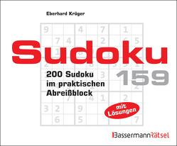 Sudoku Block 159 von Krüger,  Eberhard