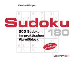 Sudoku Block 180 von Krüger,  Eberhard