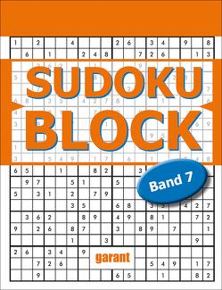 Sudoku Block Band 7 von garant Verlag GmbH