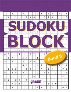 Sudoku Block Band 8 von garant Verlag GmbH