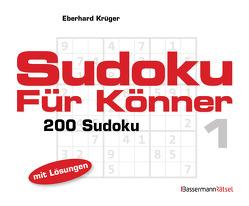 Sudoku für Könner 1 (5 Exemplare à 2,99 €) von Krüger,  Eberhard