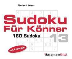Sudoku für Könner 13 (5 Exemplare à 2,99 €) von Krüger,  Eberhard