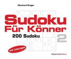 Sudoku für Könner 2 (5 Exemplare à 2,99 €) von Krüger,  Eberhard