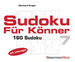 Sudoku für Könner 7 (5 Exemplare à 2,99 €) von Krüger,  Eberhard
