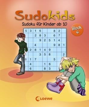 Sudoku für Kinder ab 10. Block 4 von Press,  Deike, Schoening,  Nicole