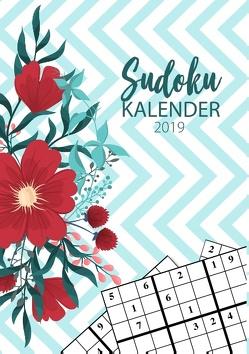 Sudoku Kalender 2019 – Terminkalender & Planer 2019 mit über 90 kniffligen Rätseln von Steen,  Mario