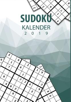 Sudoku Kalender 2019 – Terminplaner & Kalender 2019 mit über 90 Rätseln von Steen,  Mario