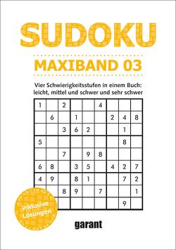 Sudoku Maxi Band 3 von garant Verlag GmbH