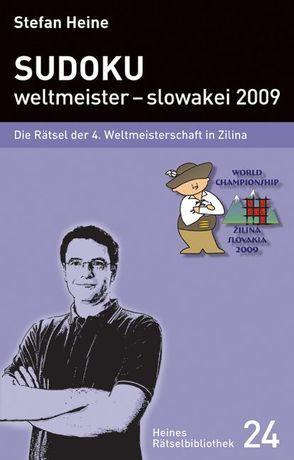 Sudoku – weltmeister – slowakei 2009 von Heine,  Stefan