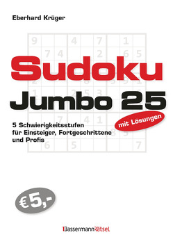 Sudokujumbo 25 von Krüger,  Eberhard
