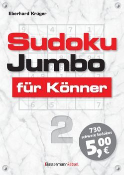 Sudokujumbo für Könner 2 von Krüger,  Eberhard
