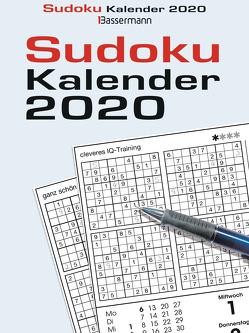 Sudokukalender 2020 von Krüger,  Eberhard
