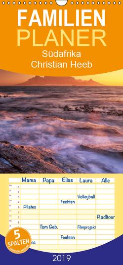 Südafrika Christian Heeb – Familienplaner hoch (Wandkalender 2019 , 21 cm x 45 cm, hoch) von Heeb,  Christian
