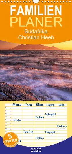 Südafrika Christian Heeb – Familienplaner hoch (Wandkalender 2020 , 21 cm x 45 cm, hoch) von Heeb,  Christian