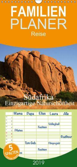 Südafrika – Einzigartige Naturschönheit – Familienplaner hoch (Wandkalender 2019 , 21 cm x 45 cm, hoch) von Müller,  Erika