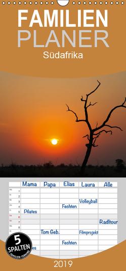 Südafrika – Familienplaner hoch (Wandkalender 2019 , 21 cm x 45 cm, hoch) von Scholz,  Frauke