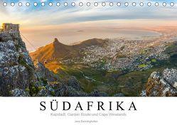 Südafrika: Kapstadt, Garden Route und Cape Winelands (Tischkalender 2019 DIN A5 quer) von Benninghofen,  Jens