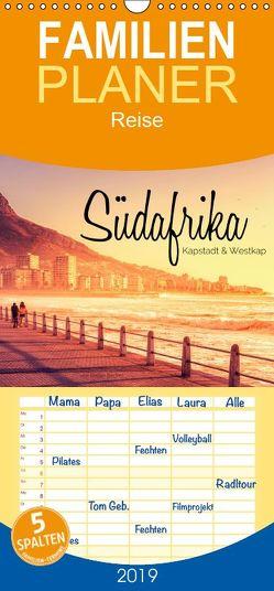 Südafrika – Kapstadt und Westkap – Familienplaner hoch (Wandkalender 2019 , 21 cm x 45 cm, hoch) von Becker,  Stefan