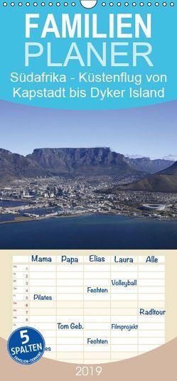 Südafrika – Küstenflug von Kapstadt bis Dyker Island – Familienplaner hoch (Wandkalender 2019 , 21 cm x 45 cm, hoch) von und Yvonne Herzog,  Michael