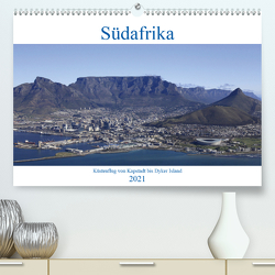 Südafrika – Küstenflug von Kapstadt bis Dyker Island (Premium, hochwertiger DIN A2 Wandkalender 2021, Kunstdruck in Hochglanz) von und Yvonne Herzog,  Michael