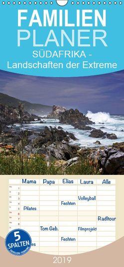 SÜDAFRIKA – Landschaften der Extreme – Familienplaner hoch (Wandkalender 2019 , 21 cm x 45 cm, hoch) von boeTtchEr,  U