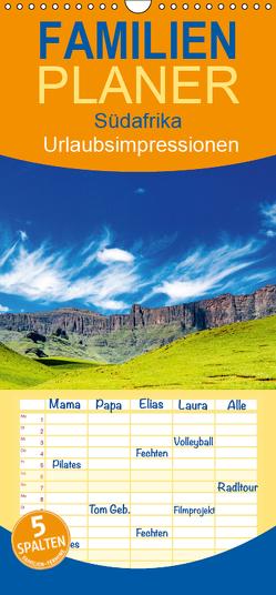 Südafrika – Urlaubsimpressionen – Familienplaner hoch (Wandkalender 2019 , 21 cm x 45 cm, hoch) von Klust,  Juergen