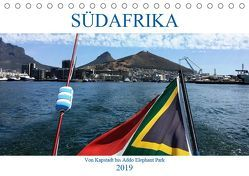 Südafrika – Von Kapstadt bis Addo Elephant Park (Tischkalender 2019 DIN A5 quer) von Berretz,  K.