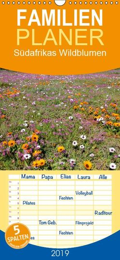 Südafrikas Wildblumen – Familienplaner hoch (Wandkalender 2019 , 21 cm x 45 cm, hoch) von Herzog,  Michael