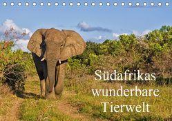 Südafrikas wunderbare Tierwelt (Tischkalender 2019 DIN A5 quer) von Peters,  Friedhelm