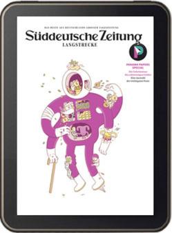 Süddeutsche Zeitung Langstrecke Ausgabe II / 2016 von Bartens,  Werner, Berndt,  Christina, Dössel,  Christine, Klute,  Hilmar, Mayer,  Christian, Rolff,  Marten, Steinberger,  Karin