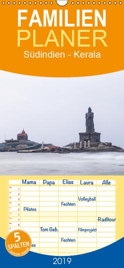 Südindien – Kerala – Familienplaner hoch (Wandkalender 2019 , 21 cm x 45 cm, hoch) von Maurer,  Marion