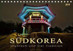 Südkorea – Hightech und viel Tradition (Tischkalender 2019 DIN A5 quer) von Roder,  Peter