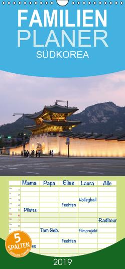 SÜDKOREA zwischen asiatischer Tradition und Moderne – Familienplaner hoch (Wandkalender 2019 , 21 cm x 45 cm, hoch) von Geschke,  Sabine